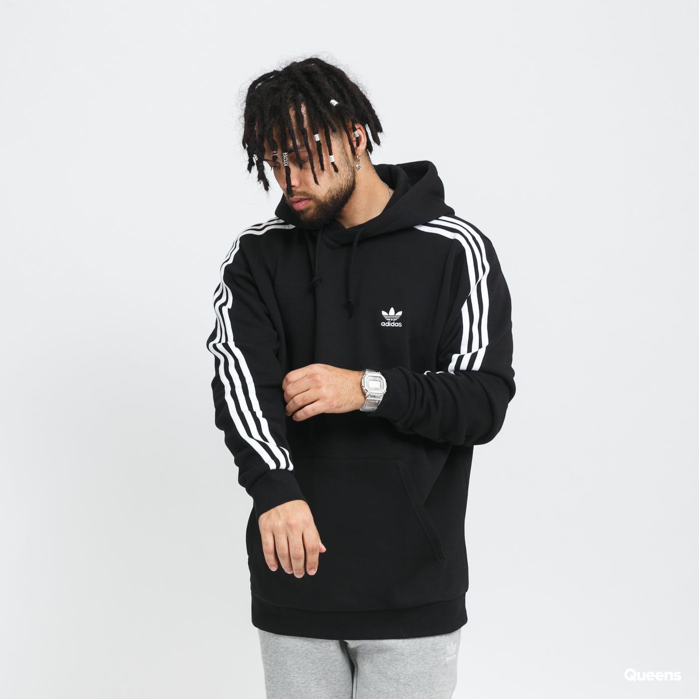 adidas Originals 3Stripe Hoody gray / beige / pink / black