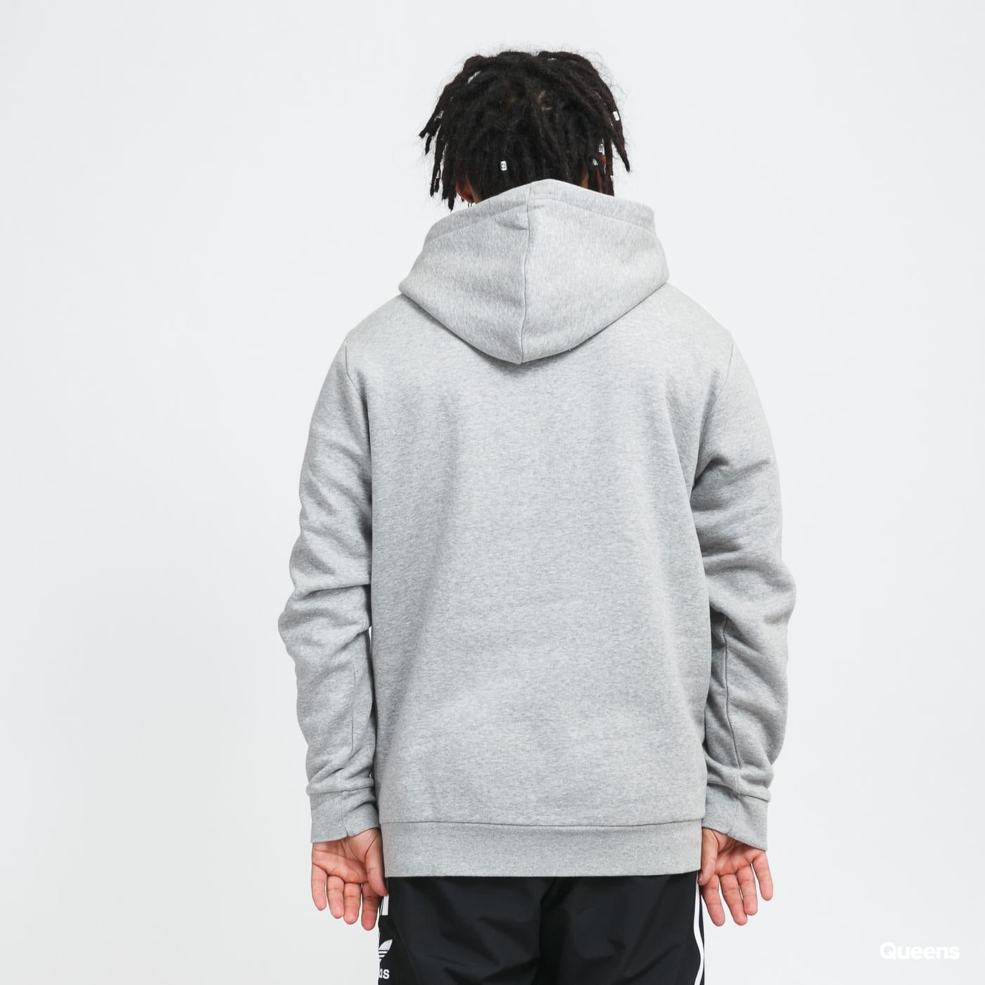 adidas Originals 3Stripes Hoody melange gray