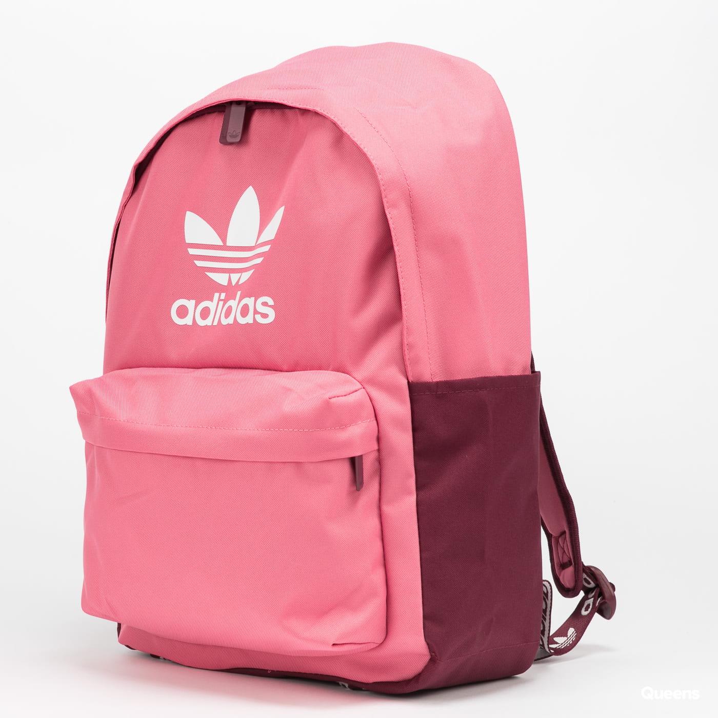 adidas Originals Adicolor Backpack tmavě růžový / vínový