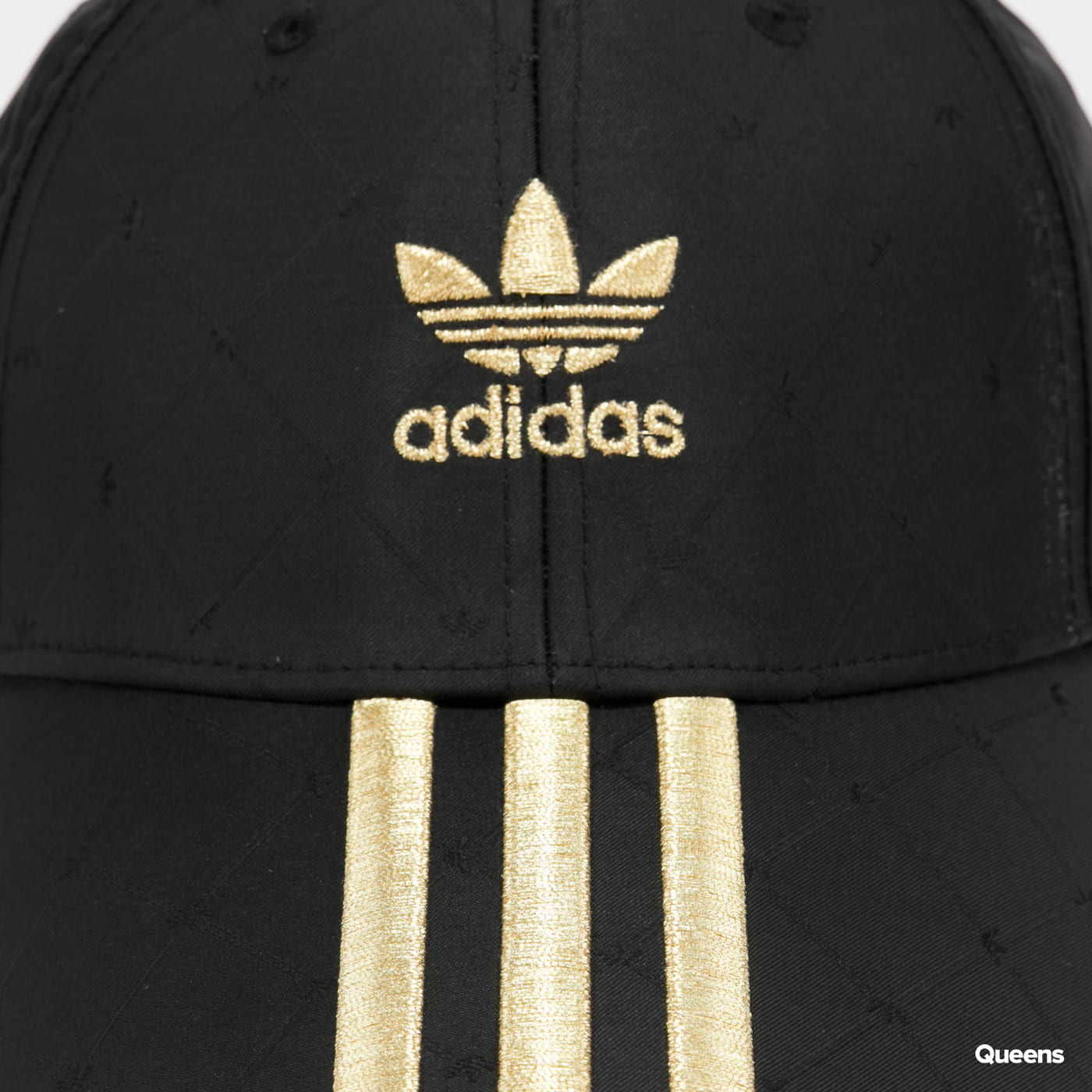 adidas Originals Baseball Cap černá / zlatá