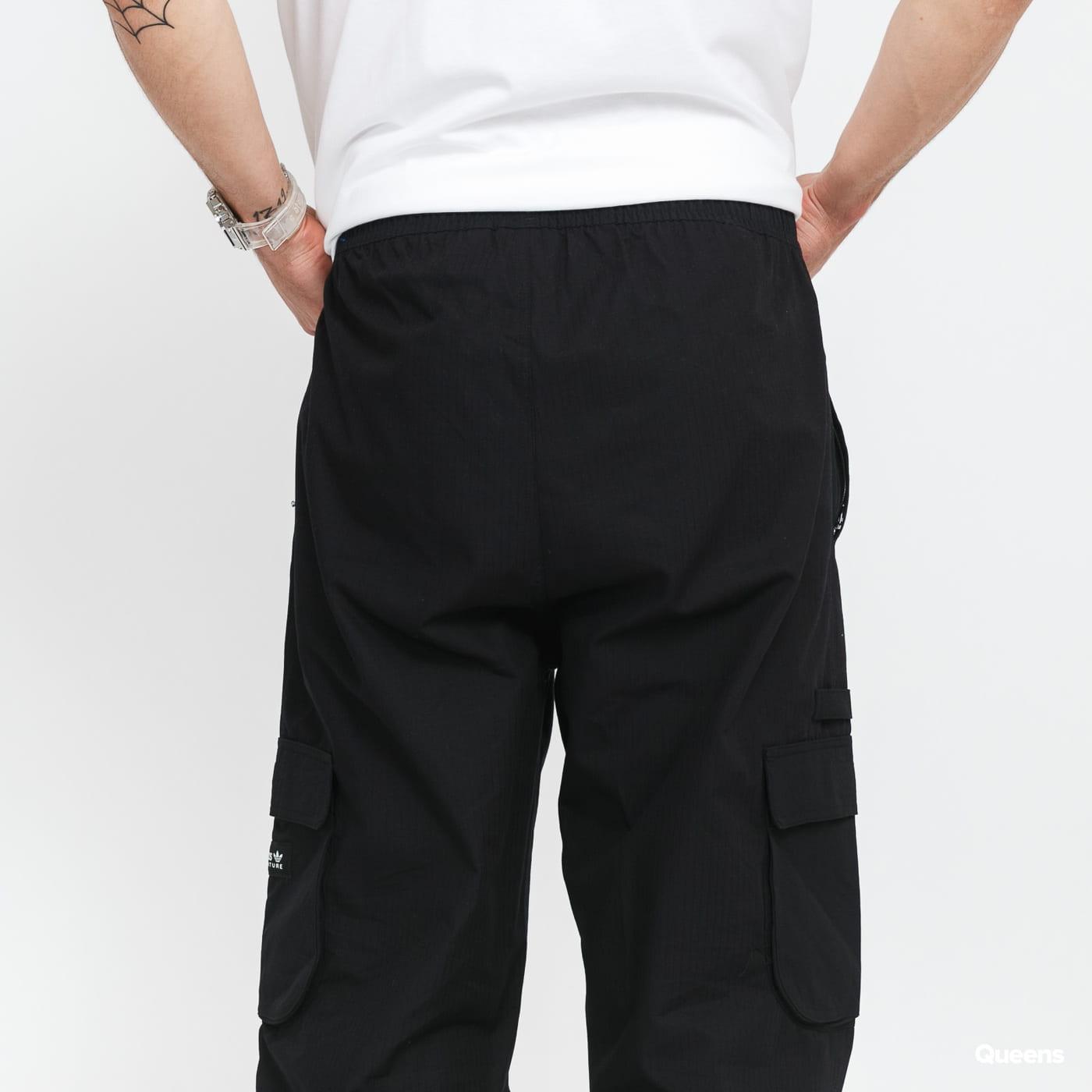 adidas Originals Cargo Pant black stone washed no length