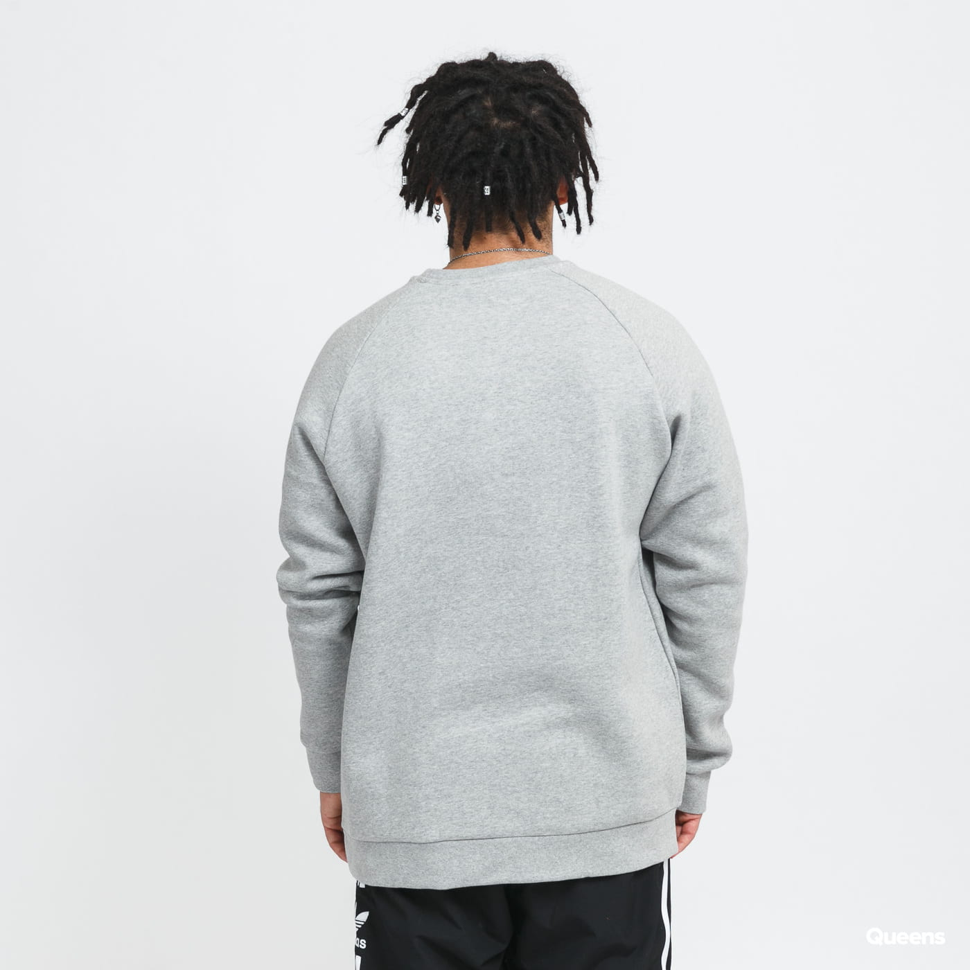 adidas Originals Essential Crew melange gray