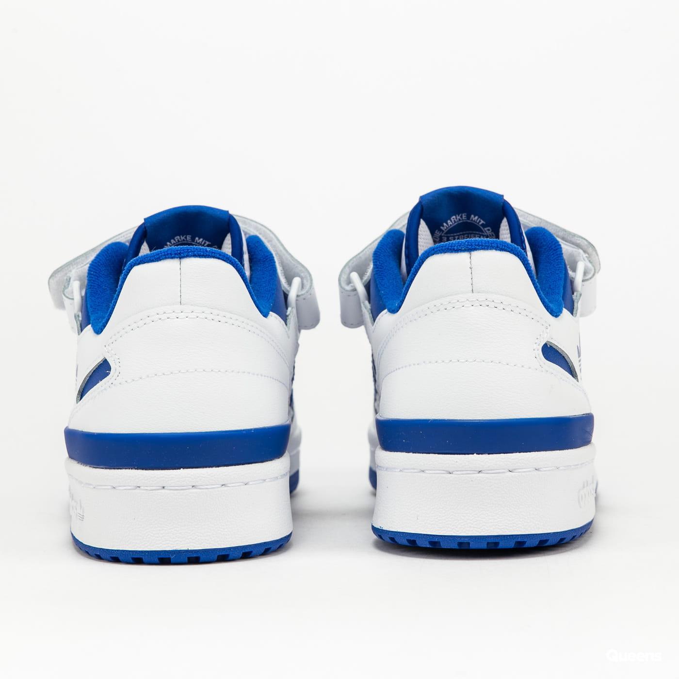 adidas Originals Forum Low ftwwht / ftwwht / royblu