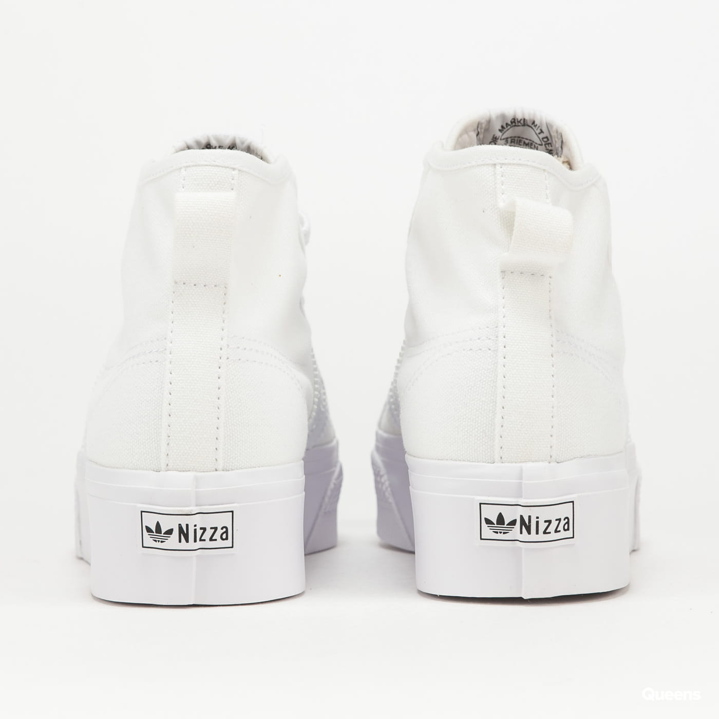adidas Originals Nizza Platform Mid W ftwwht / ftwwht / ftwwht
