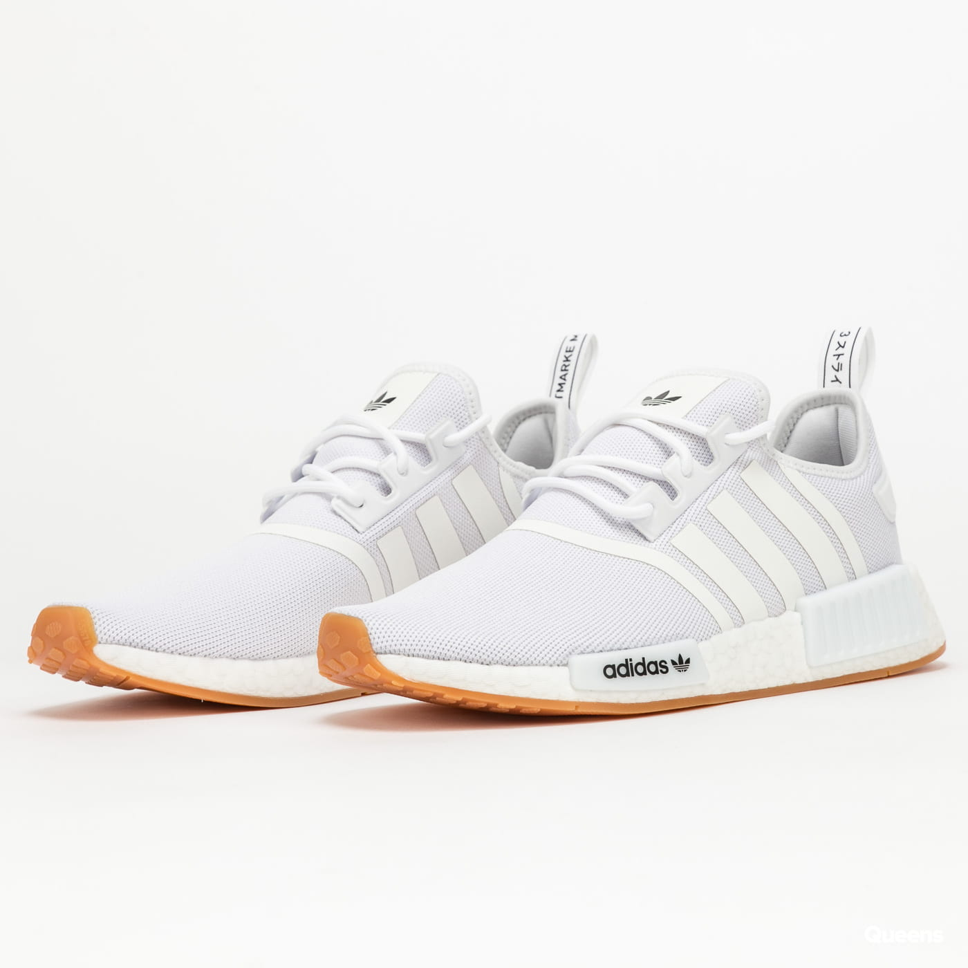adidas Originals NMD_R1 Primeblue cwhite / cwhite / gum