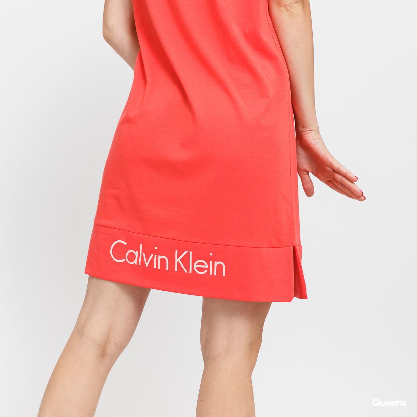 Calvin Klein Nightshirt světle červené