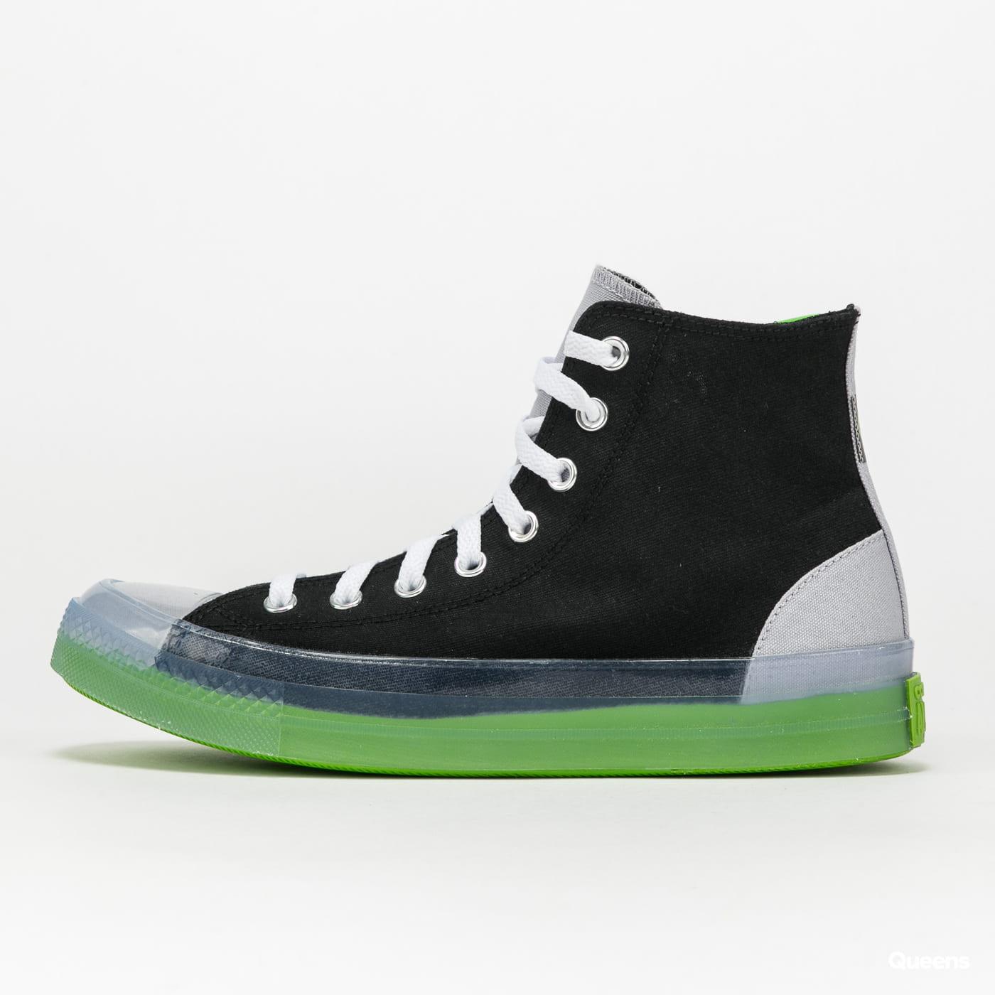 Converse Chuck Taylor All Star CX HI black / gravel / bold wasabi