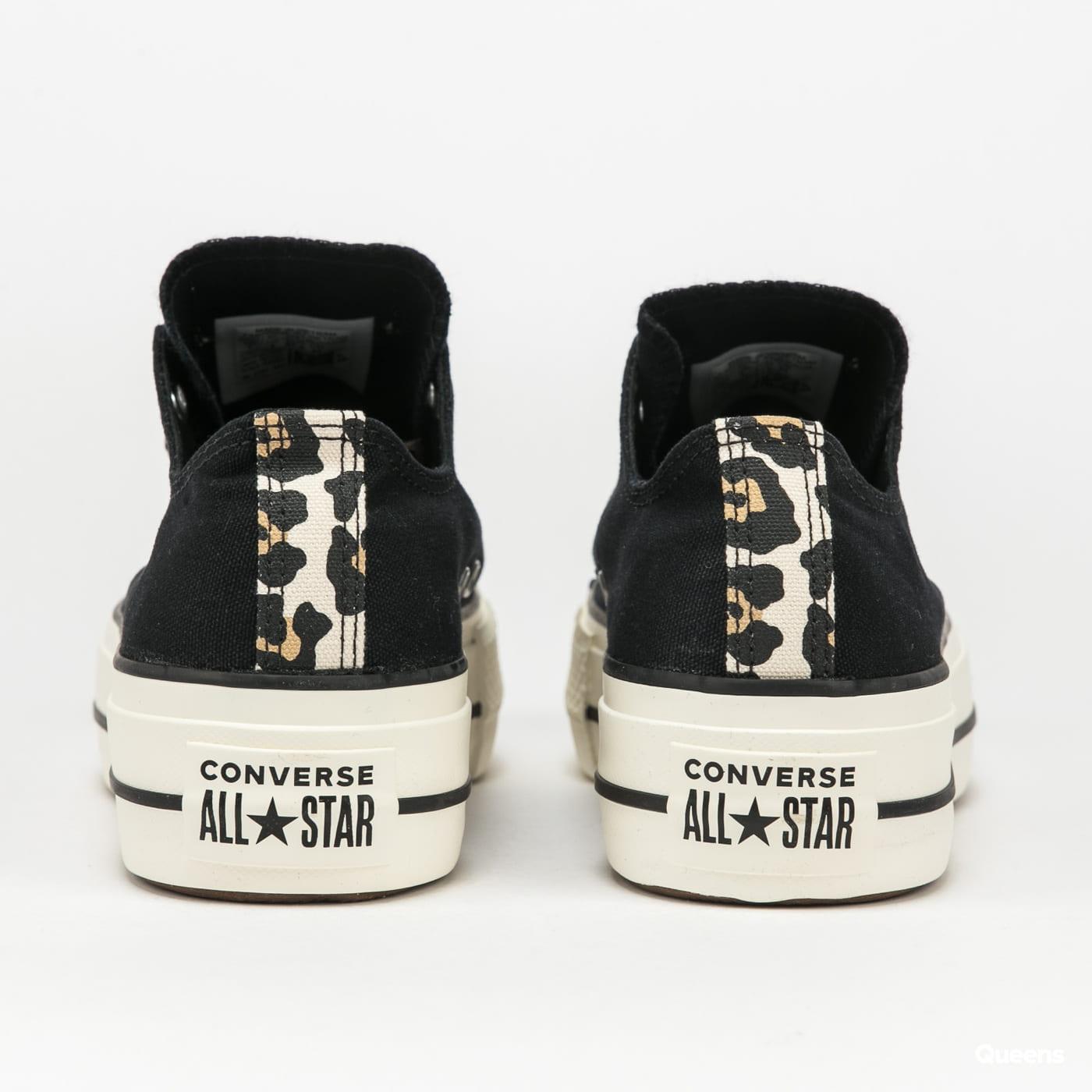 Converse Chuck Taylor All Star Lift OX black / light fawn / egret