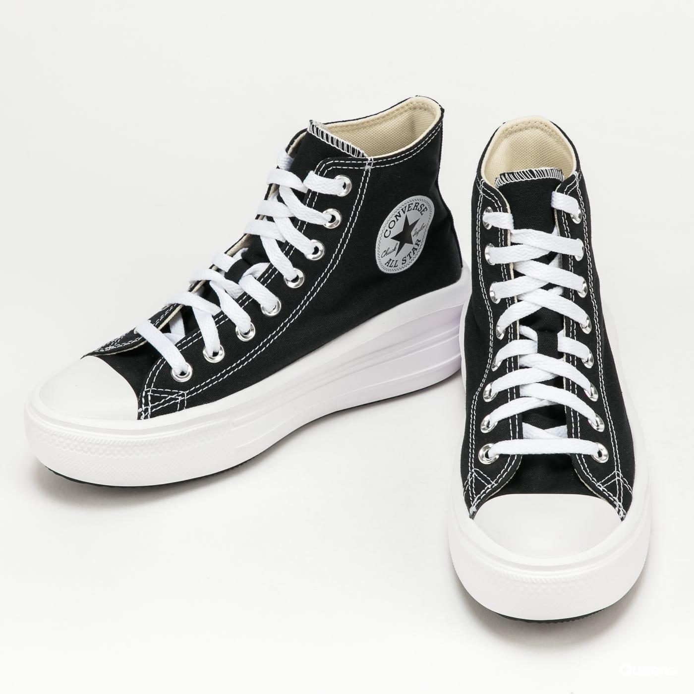Converse Chuck Taylor All Star MOve Hi black / natural ivory / white