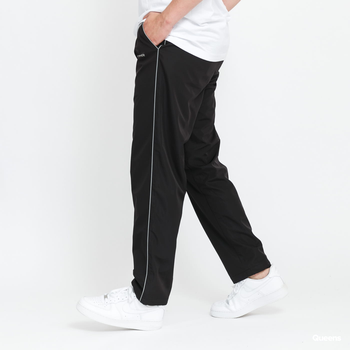 Daily Paper Etrack Pants black stone washed no length