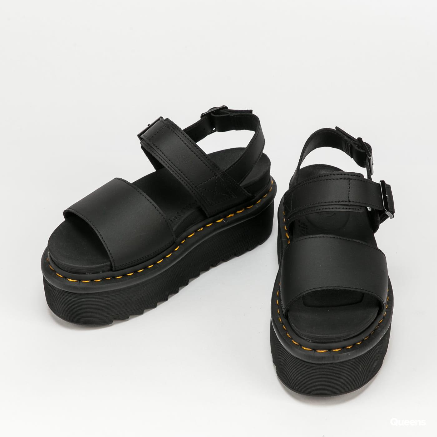 Dr. Martens Voss Quad black hydro leather