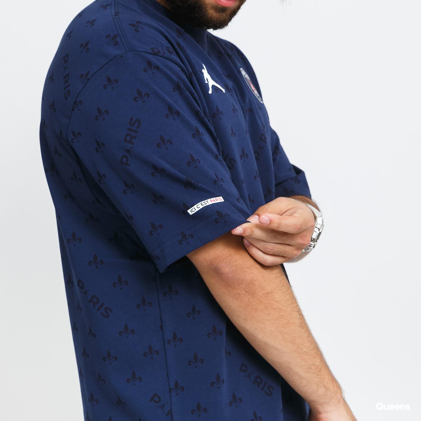 Jordan M J PSG Statement Tee blue / turquoise