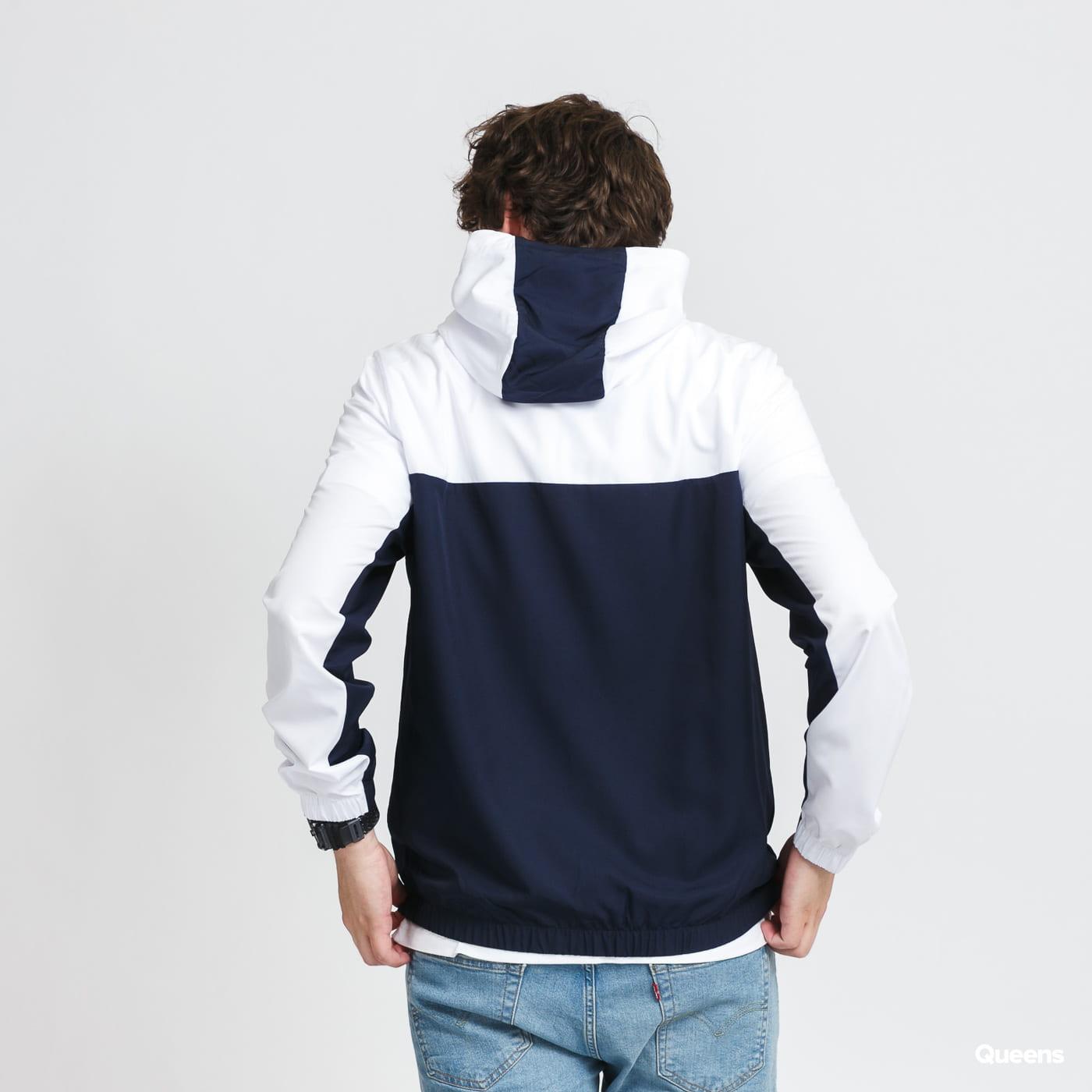 LACOSTE Men's Sport Colourblock Zip Jacket navy / white
