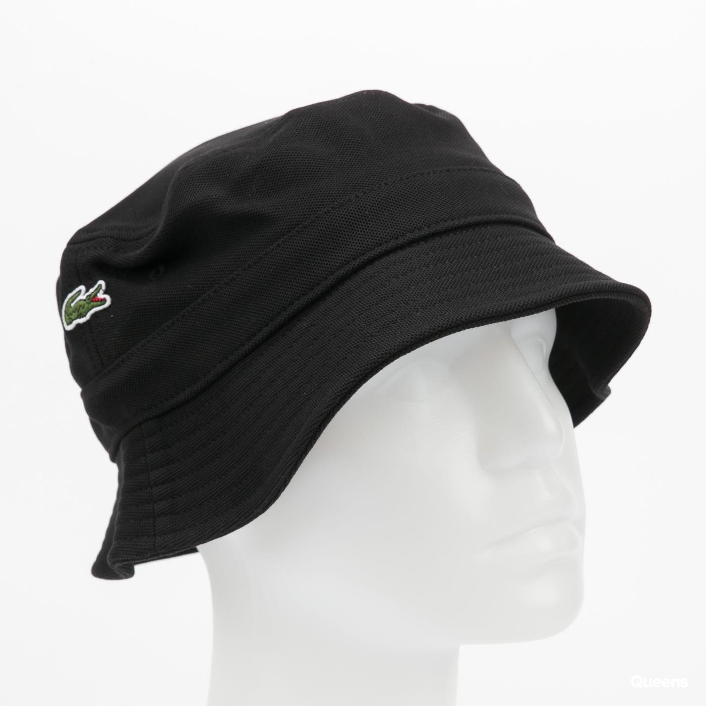 LACOSTE Men's Unisex Bucket Hat černý