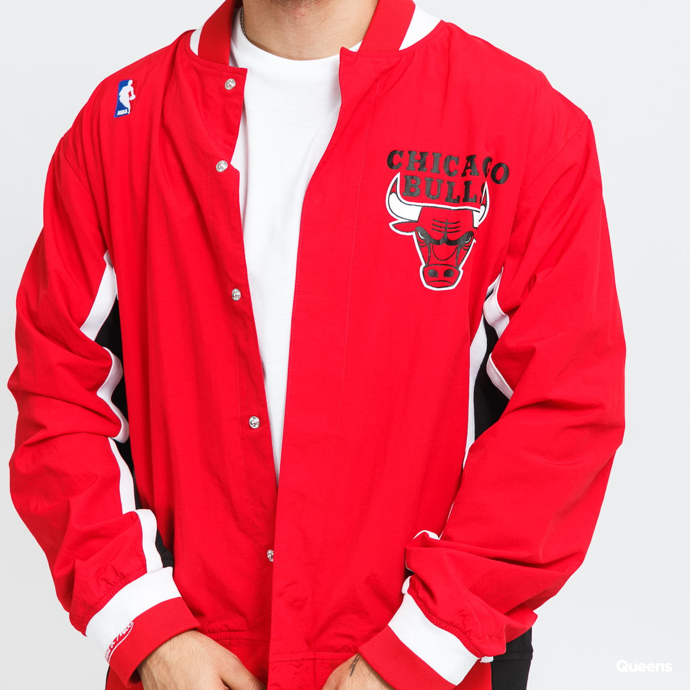 Mitchell & Ness Authentic Warm Up Bulls red / black / white