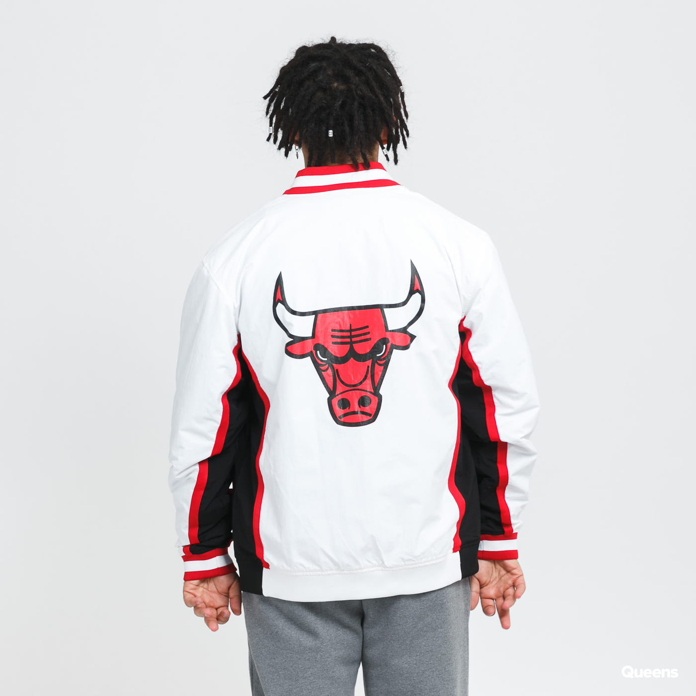 Mitchell & Ness Authentic Warm Up Bulls blue / turquoise
