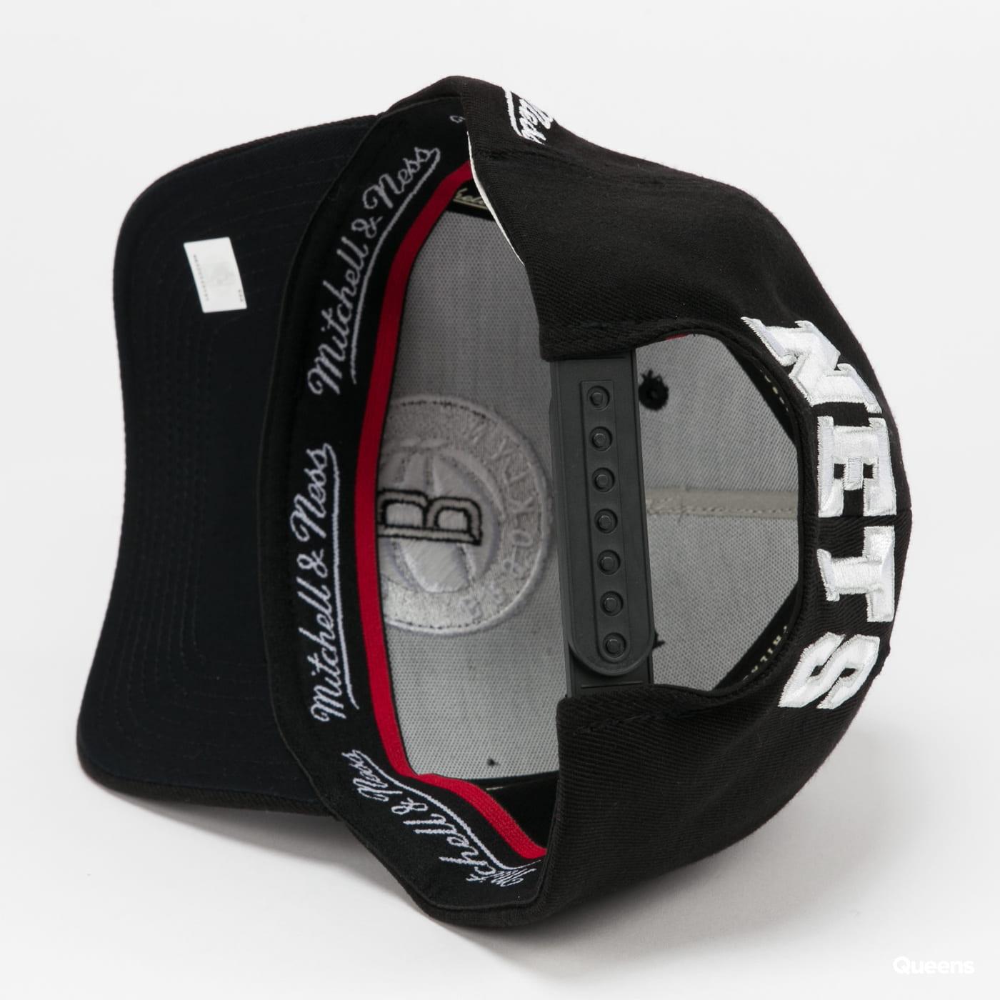 Mitchell & Ness Dropback Solid Redline Snapback Nets černá