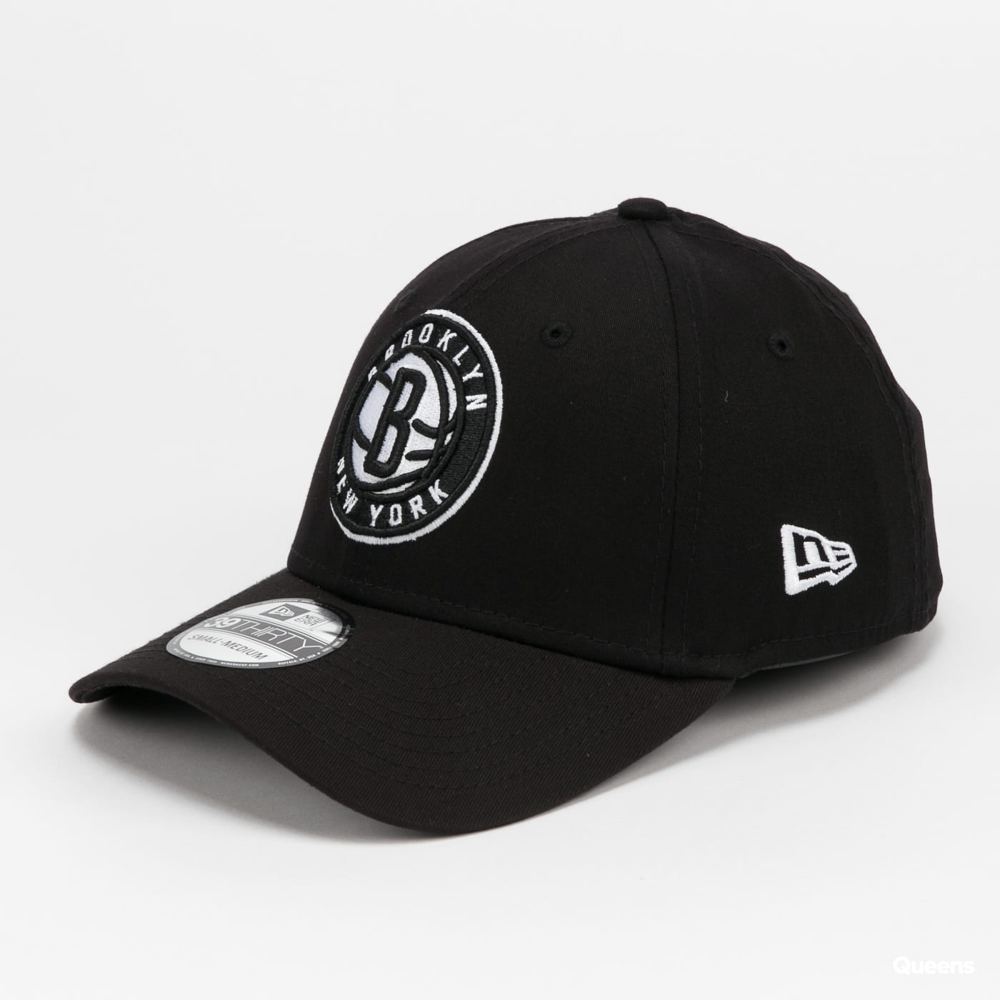 New Era 3930 NBA Core Brooklyn NY gray / beige / pink / black