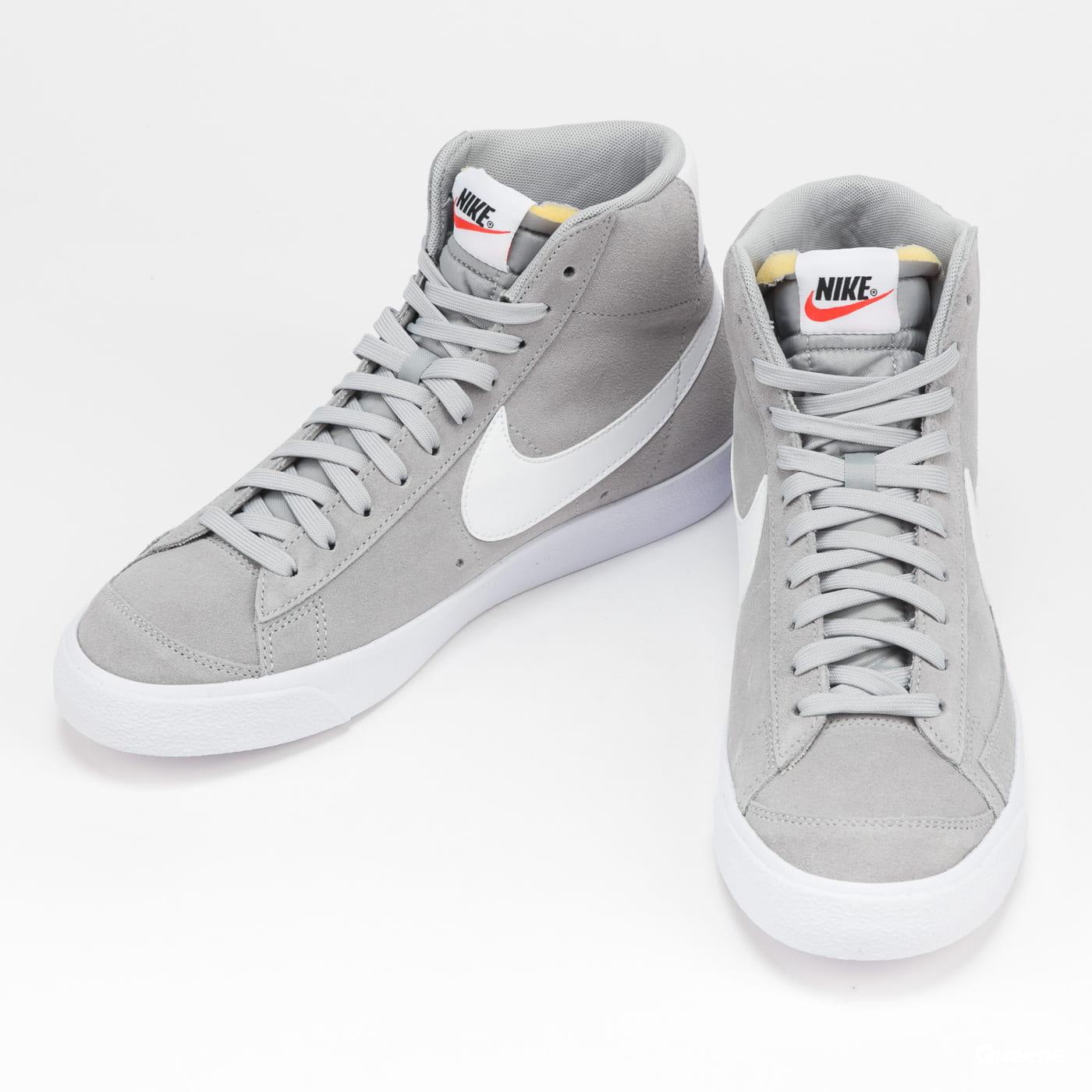 Nike Blazer Mid '77 Suede lt smoke grey / white - white