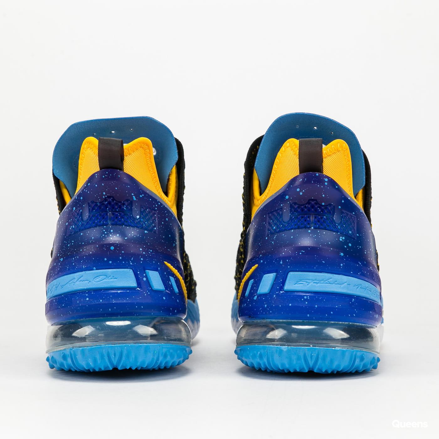 Nike Lebron XVIII black / university gold - coast