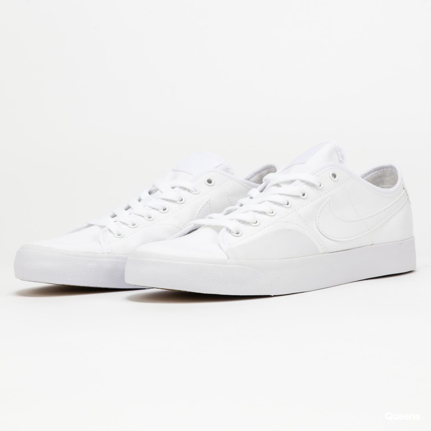 Nike SB Blazer Court white / white - white - white