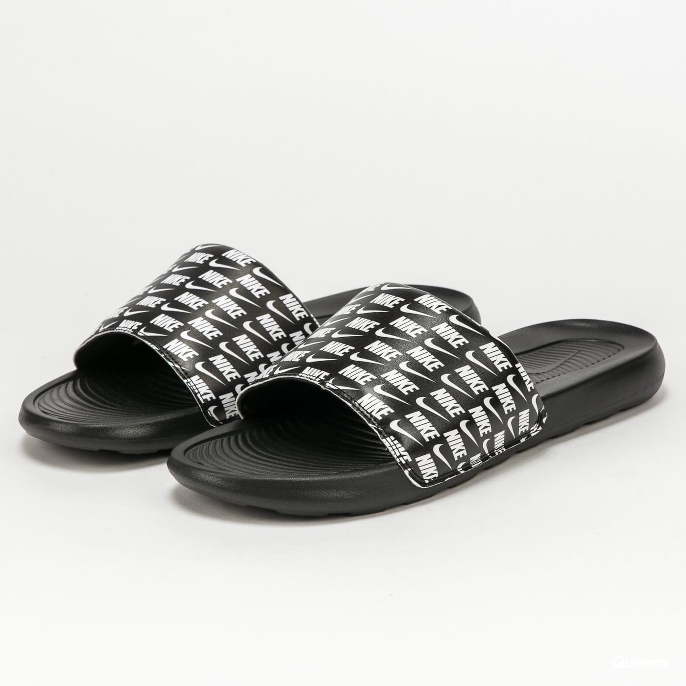 Nike Victori One Slide Print black / white - black
