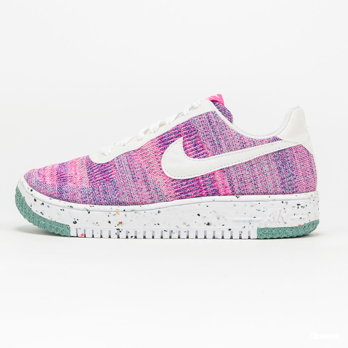 Nike W Air Force 1 Crater Flyknit fuchsia glow / white - pink blast