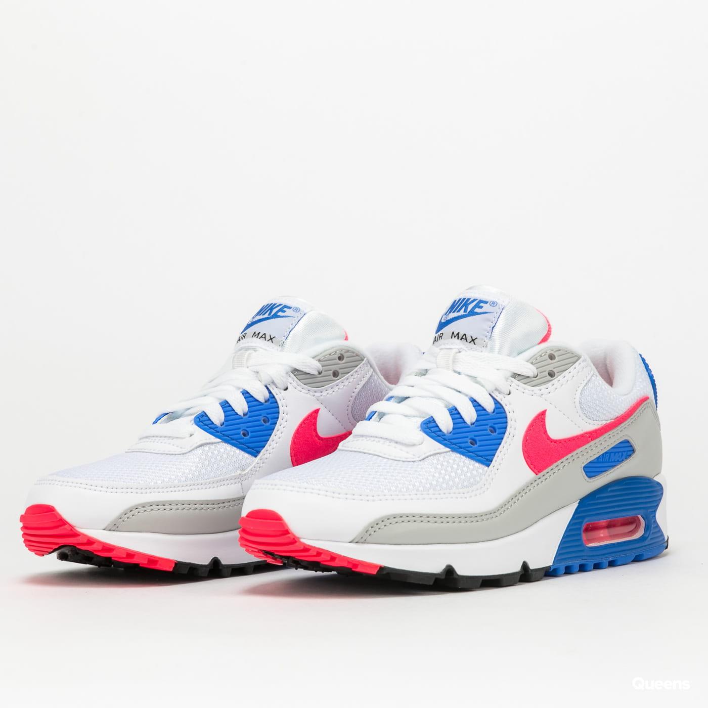 Nike W Air Max III white / hot coral - blue crystal