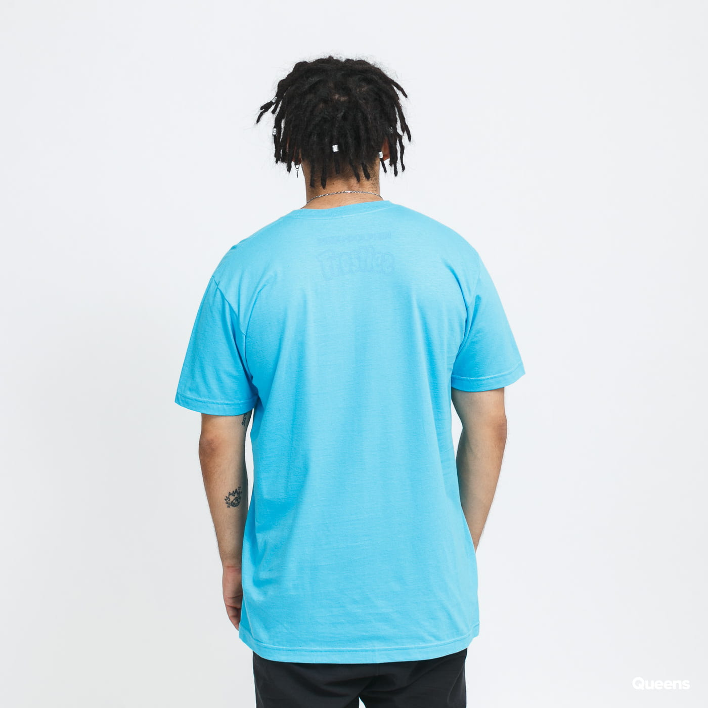 Pink Dolphin Pink + Frostiez Icicles Tee blue