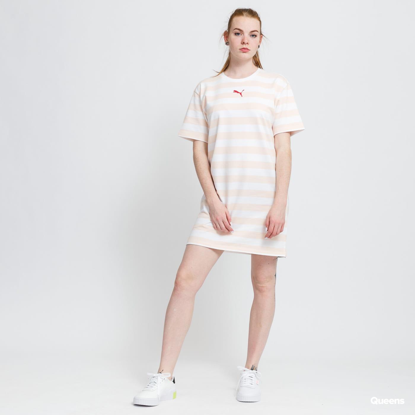 Puma Summer Stripes AOP Dress light pink / white