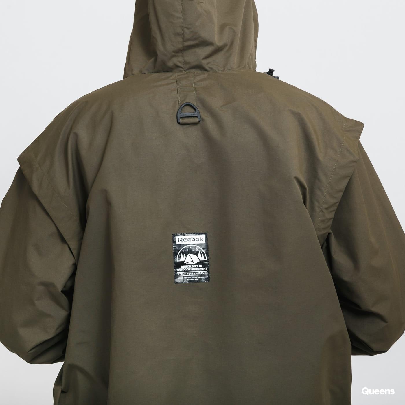Reebok CL Camping Jacket olivová