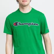Champion Logo Crew Neck Tee zelené