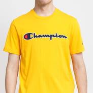 Champion Logo Crew Neck Tee žluté
