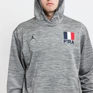 Jordan France M NK Spotlight Hoodie PO melange tmavě šedá / šedá