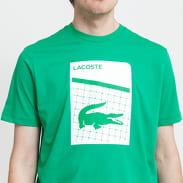 LACOSTE Men's Sport 3D Print Tee zelené