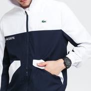 LACOSTE Men's Sport Colourblock Zip Jacket navy / bílá