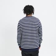 Lyle & Scott Breton Stripe Sweatshirt navy / bílá