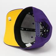 New Era 950 Stretch Snap NBA Team Colour LA Lakers fialová / žlutá