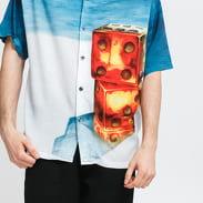 Stüssy Dice Painting Shirt multicolor
