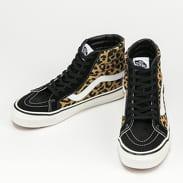 Vans SK8 - Hi 38 DX (anaheim factory) black / tan leopard