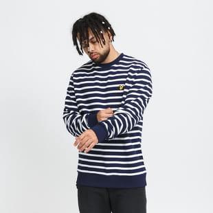Lyle & Scott Breton Stripe Sweatshirt