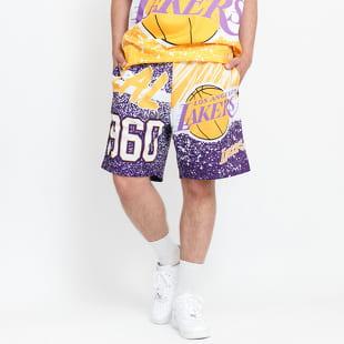 Mitchell & Ness NBA Jumbotron Mesh Shorts LA Lakers