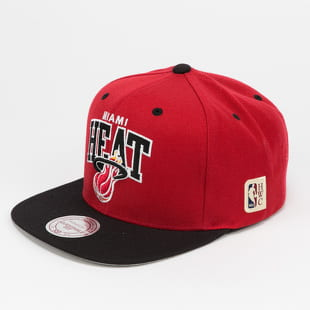 Mitchell & Ness Team Arch 2 Tone Snapback Miami Heat