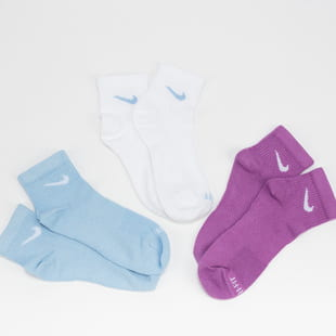 Nike U NK EVRY Plus LTWT Ankle 3er-Pack