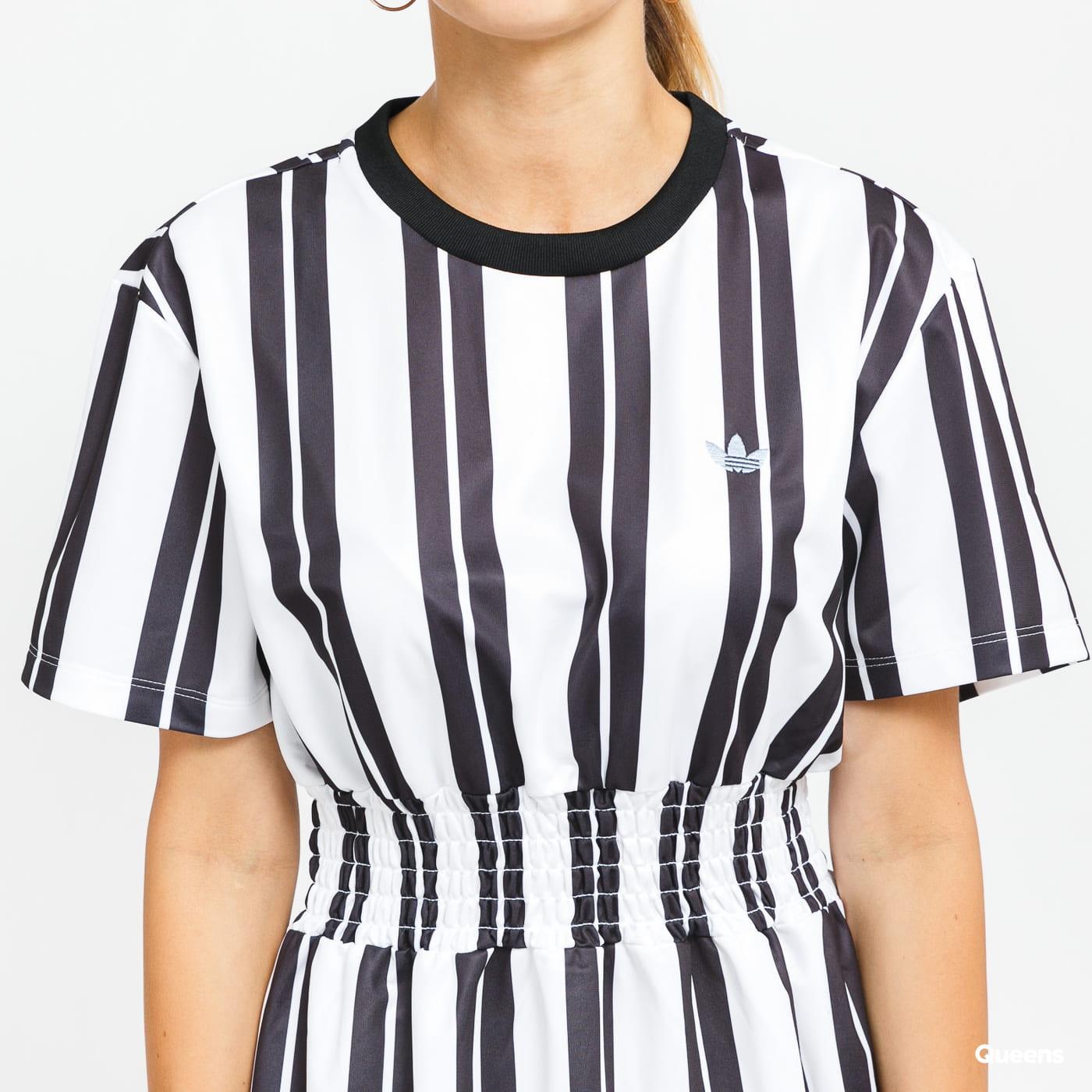 adidas Originals Dress bílé / černé