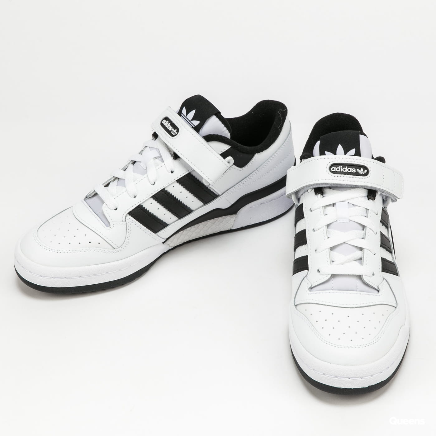 adidas Originals Forum Low ftwwht / ftwwht / cblack