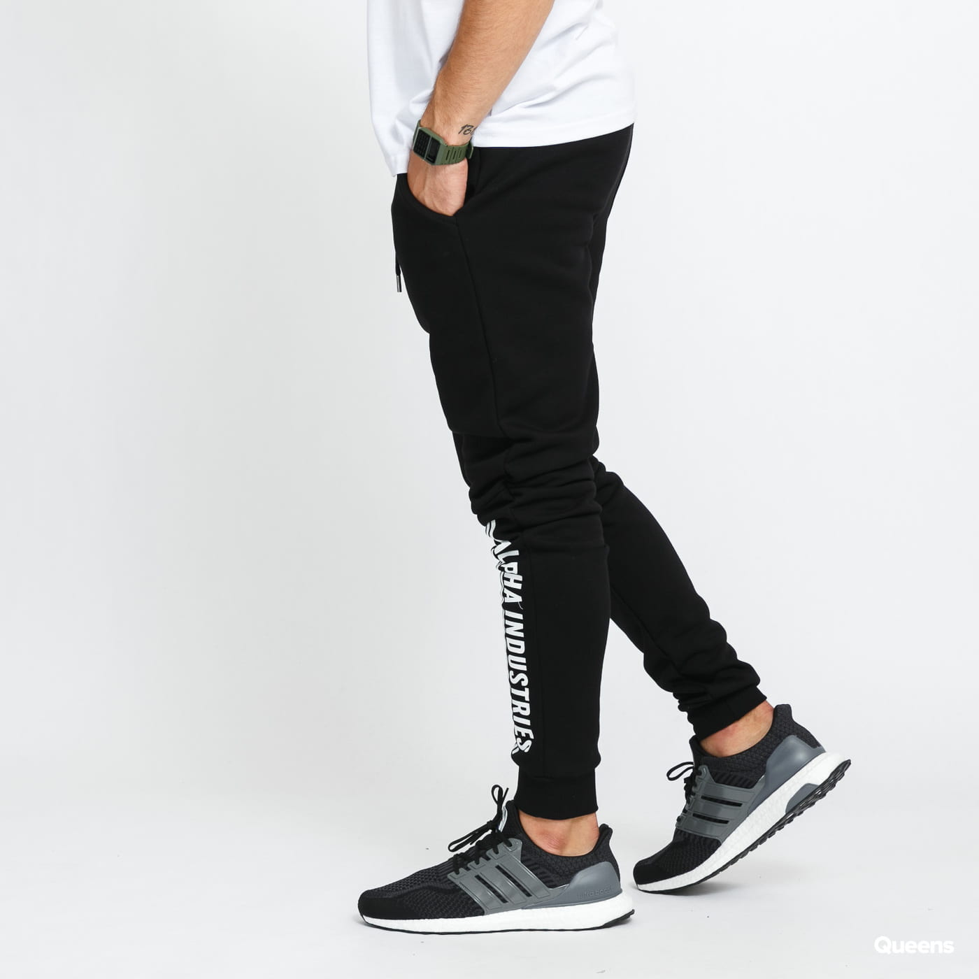 Alpha Industries Alpha Industries Jogger black stone washed no length