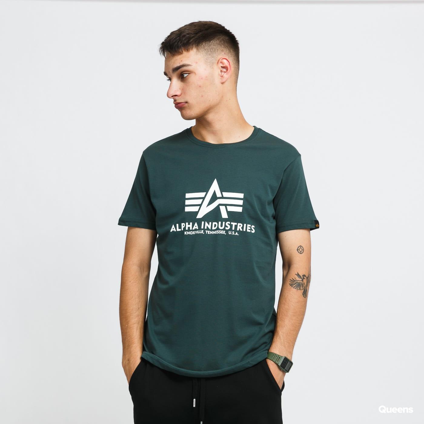 Alpha Industries Basic Tee dark green