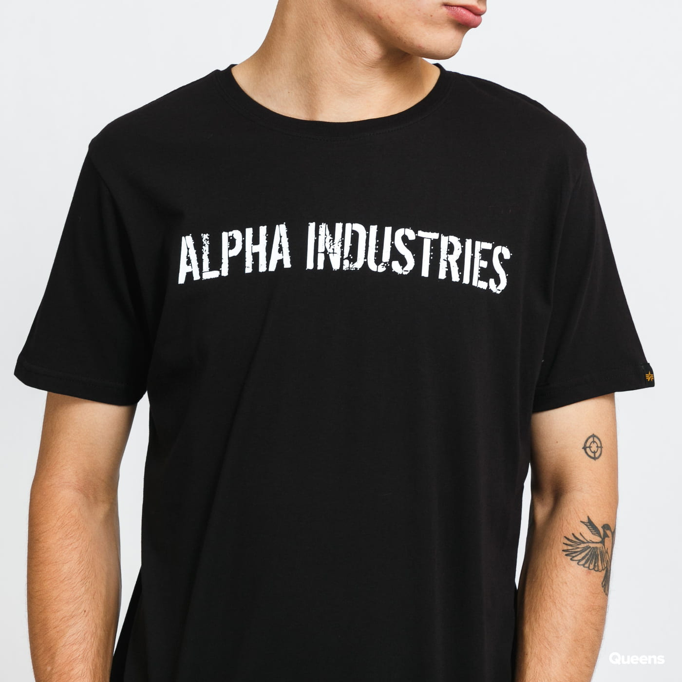 Alpha Industries RBF Moto Tee black stone washed no length