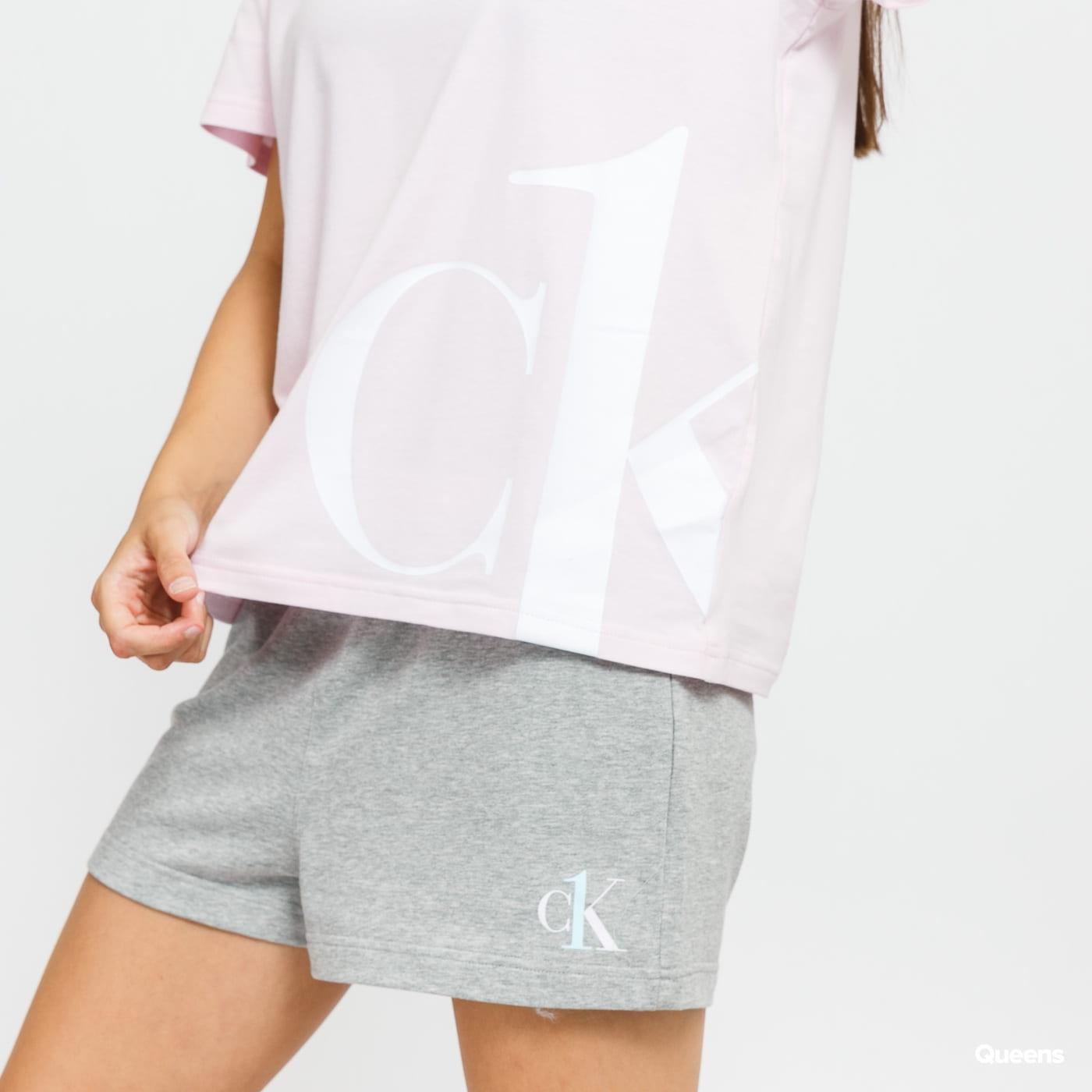 Calvin Klein CK ONE SS Crew Neck růžové